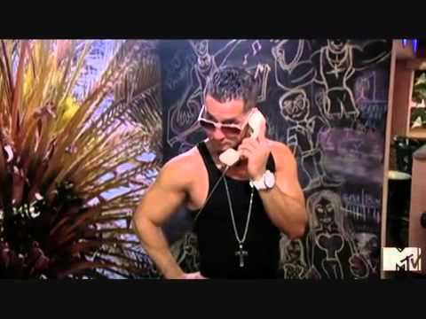 Jersey Shore - Mike The Situation Calls a Cab