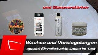 Chemical Guys Lava Whitelight Dodo Juice Diamond W. Autopflegeprodukte für weißen Lack im Test