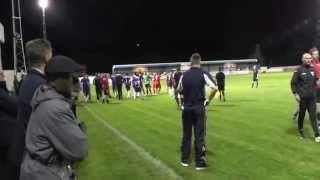Ramsbottom V Buxton FC Brawling About  .