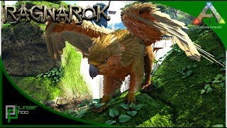ARK RAGNAROK-GRIFFIN TAMING-VANILLA GRIFFIN TAMING PEN-FARMING ICE WYVERN EGG LOCATION! #20