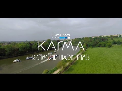 GoPro Karma Drone: Richmond Upon Thames [ London, UK]