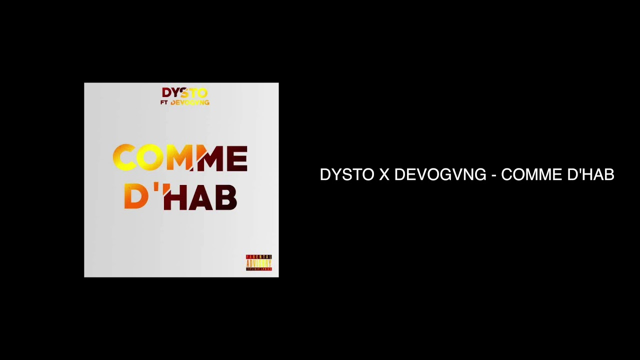 DYSTO x DEVOGVNG - COMME D'HAB