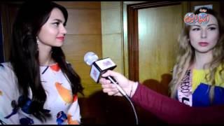 ملكة جمال روسيا أستمتع بوقتي في مصر