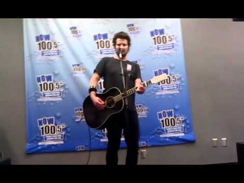 Matt Nathanson Private Concert Now 100.5 1-09-12.3gp