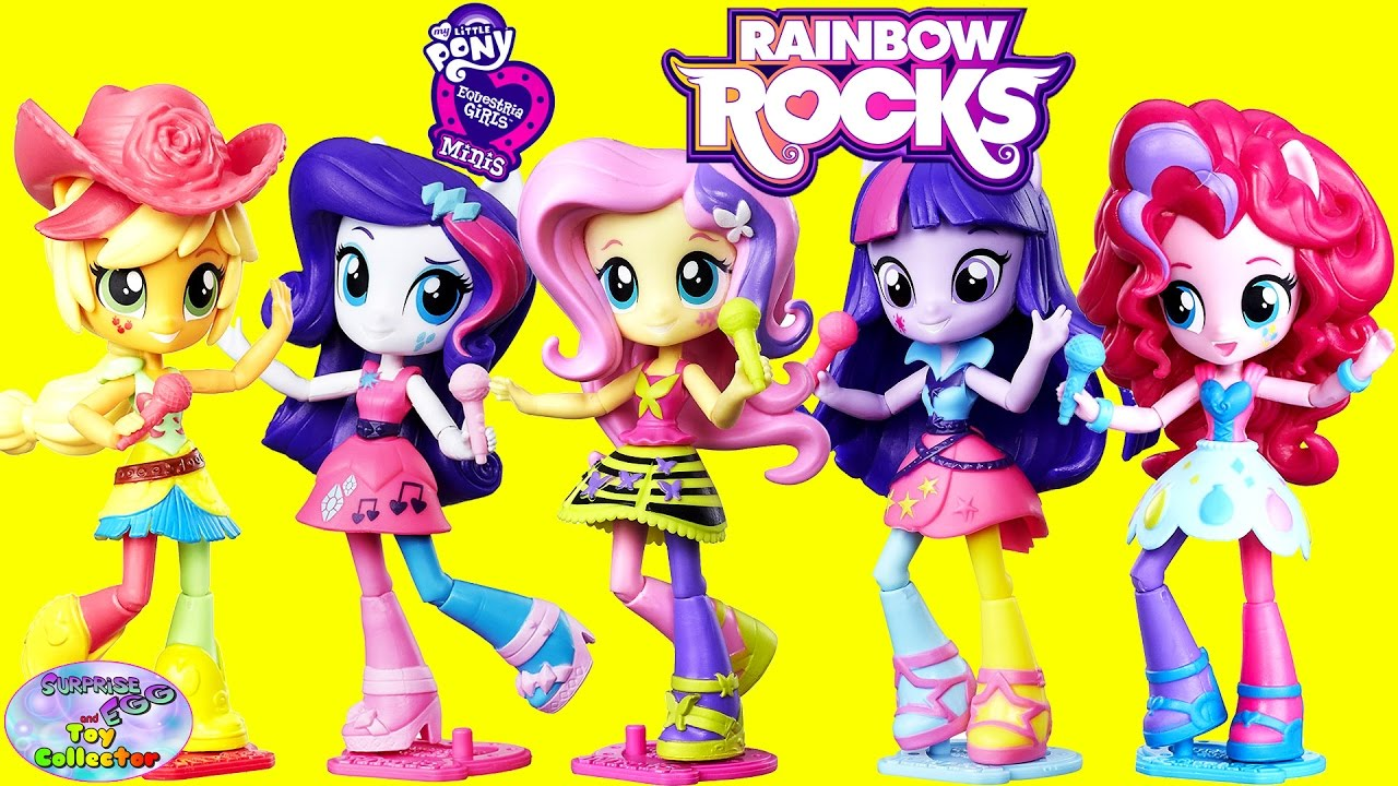 My Little Pony Equestria Girls Minis Rainbow Rocks New