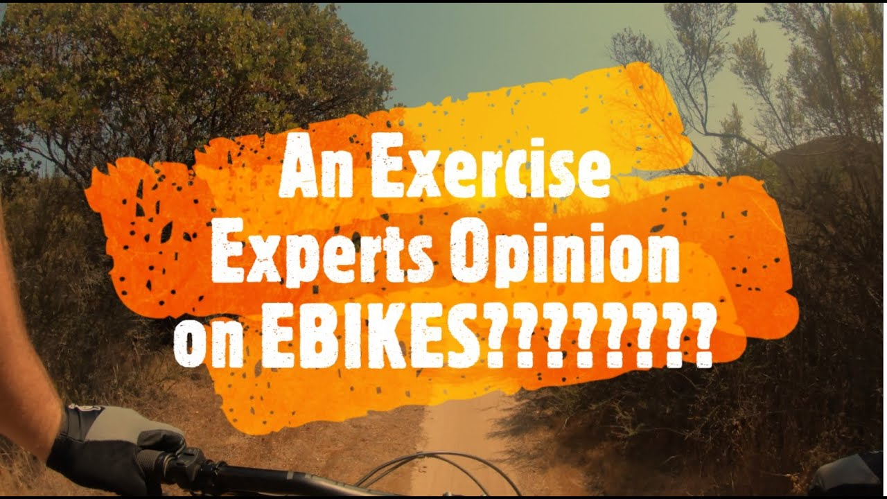 Why e-bikes are AMAZING for your health