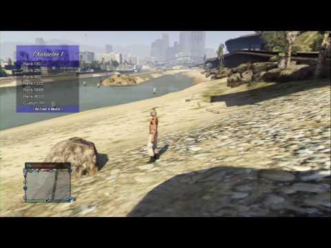 MOD MENU (MINI modloader) GTA V PS3 1 27/1 28 CEX/DEX +DOWNLOAD