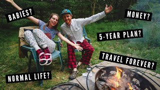 Q&A: HOW do you make MONEY?💸 Do you WANT KIDS?🍼 TRAVEL & LIFE PLANS for the FUTURE?🔮