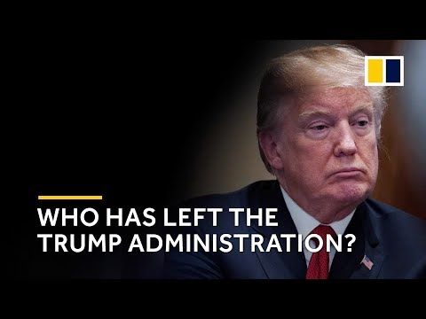 The ever-growing list of officials to quit or be fired from the Trump administration