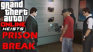 GTA 5 Heists Part 1 (Prison Break w/ HydroPredator2, Smokie the tree, TopSWAGKing, VisualUndead)