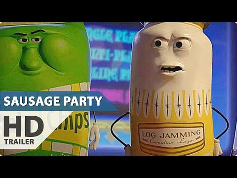 SAUSAGE PARTY Red Band Movie Clip - Tweaking (2016)
