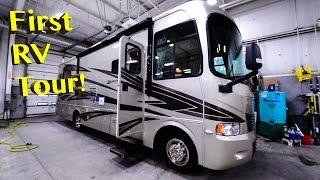 First Full Time RV Tour ~ 2008 Monaco Monarch SFS