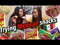 TRYING MEXICAN SNACKS !
