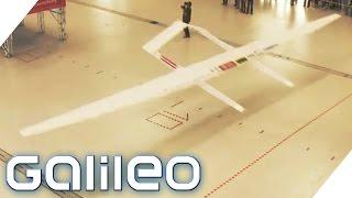 Weltrekordversuch Papierflieger | Galileo | ProSieben