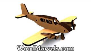 Build Your Own Wooden Piper Cub (hd)!