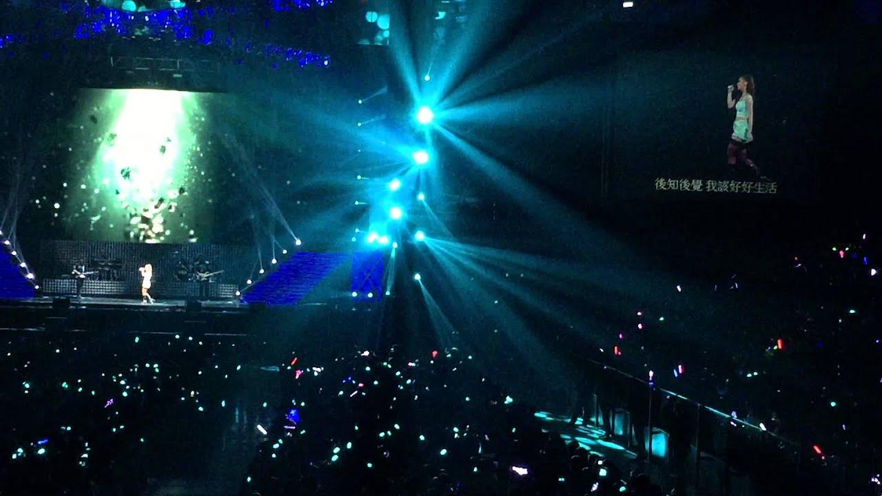 2015年3月12日 GEM鄧紫棋XXX巡迴演唱會GEM 臺北站龍捲風 - YouTube