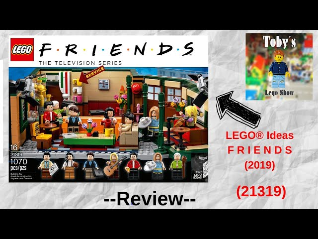 Mein erstes Friends Set! - LEGO® Ideas F R I E N D S Central Perk 21319 - Review + Fazit