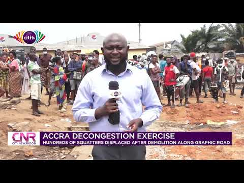 Accra: Taskforce clears unauthorised structures along Graphic Road | Citi Newsroom