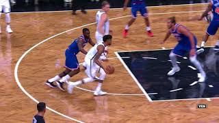 Данк Тимофея Мозгова в игре Brooklyn Nets - New York Knicks (117 83) 2af3384af