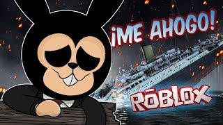 AHHH I STAY IN THE TITANIC OF ROBLOX! 😱 *It's Almost Impossible to Survive*