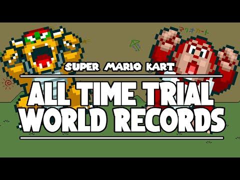 Super Mario Kart | All World Records | NTSC | January 2021