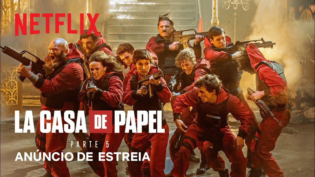 La Casa de Papel: Parte 5 | Anúncio de estreia | Netflix