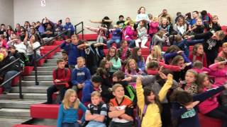 Crossroads Elementary does the Mannequin challenge!
