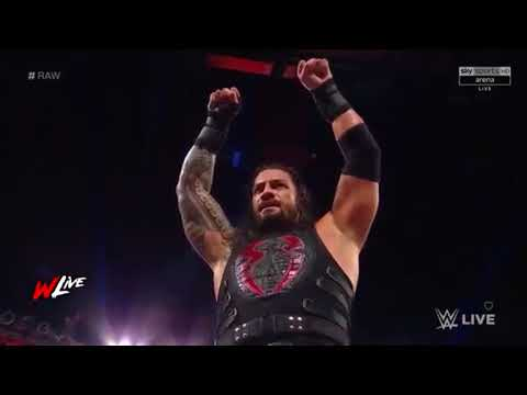 Full Match  Roman Reigns Vs Jason Jordan  WWE RAW 11 September 2017 x264 thumbnail