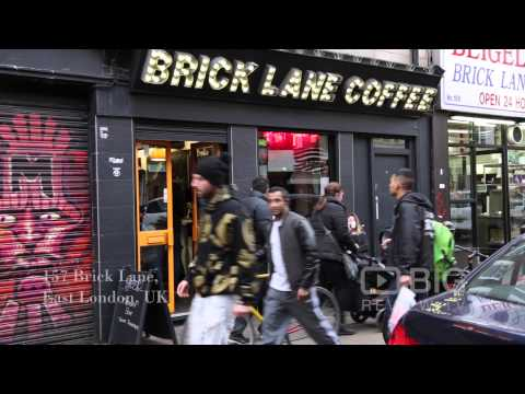 Brick Lane Coffee A Cafe In London Serving Macchiato, Brownies And Cupcakes