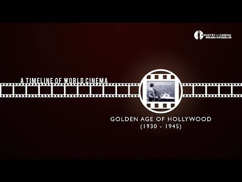 Learn Film History: Golden Age of Hollywood - Timeline of Cinema Ep. 3