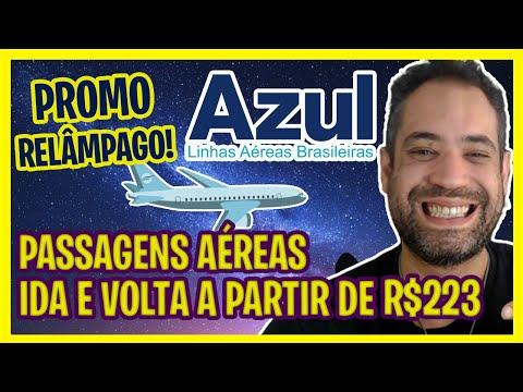 MEGA PROMOÇÃO AZUL! IDA E VOLTA A PARTIR DE R$223!
