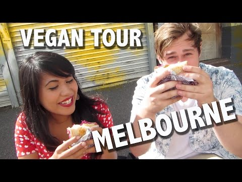Vegan Tour of MELBOURNE, Australia!