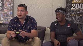 EA SPORTS UFC 3 Live Stream: KSI vs Chris Weidman Gameplay