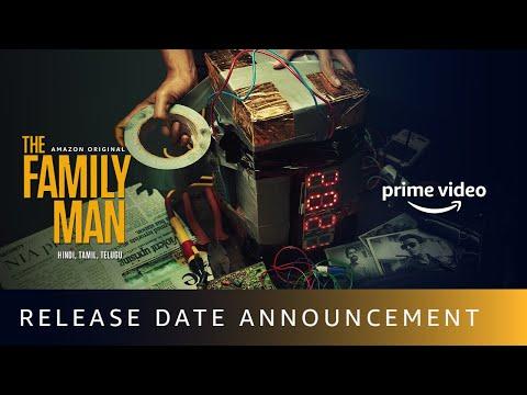 The Family Man S2 - Release Date Announcement   Amazon Original