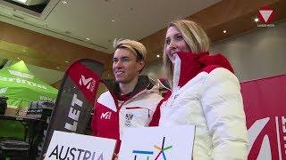 Einkleidung Olympische Winterspiele 2018