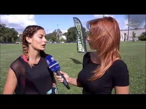 Marta Faial e Rita de la Rochezoire na Academia Fitness Militar