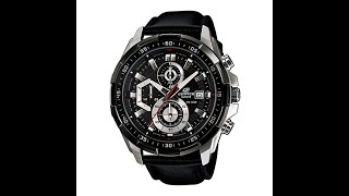 Casio Edifice EFR-539L-1AVUDF Watch Unboxing/Review/ Accessories