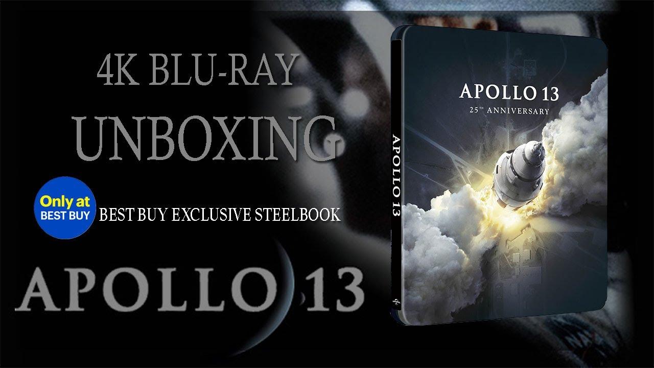Download Apollo 13 Best Buy Exclusive 4K Steelbook Unboxing