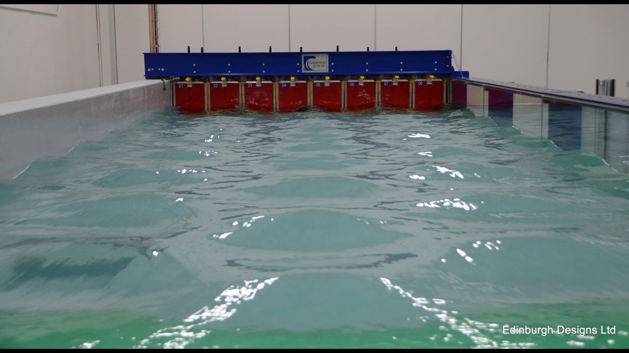 Preview image for Michigan Technological University Compact 3D Wave Flume video