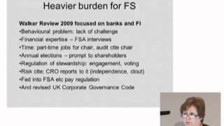 Jane Fuller, FM 5th Annual Conf. Corporate governance in the financial services sector (2/3)