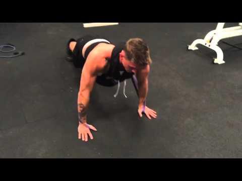 Training w Cody Saintnew Brett Talbot MTV TEEN WOLF