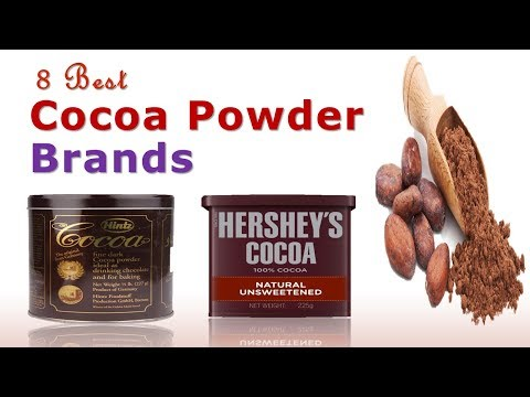 8 Best Cocoa Powder Brands | Best Cocoa Powder | Best Unsweetened Cocoa Powder