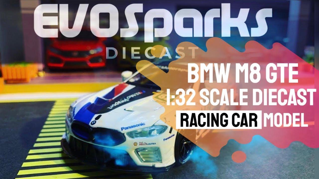 Unboxing Review of BMW M8 GTE DieCast Racing Car #miniatureautomobiles #diecastcars #miniature