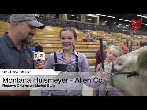 2017 Ohio State Fair - Grand and Reserve Champion Jr. Market Beef Exhibitors