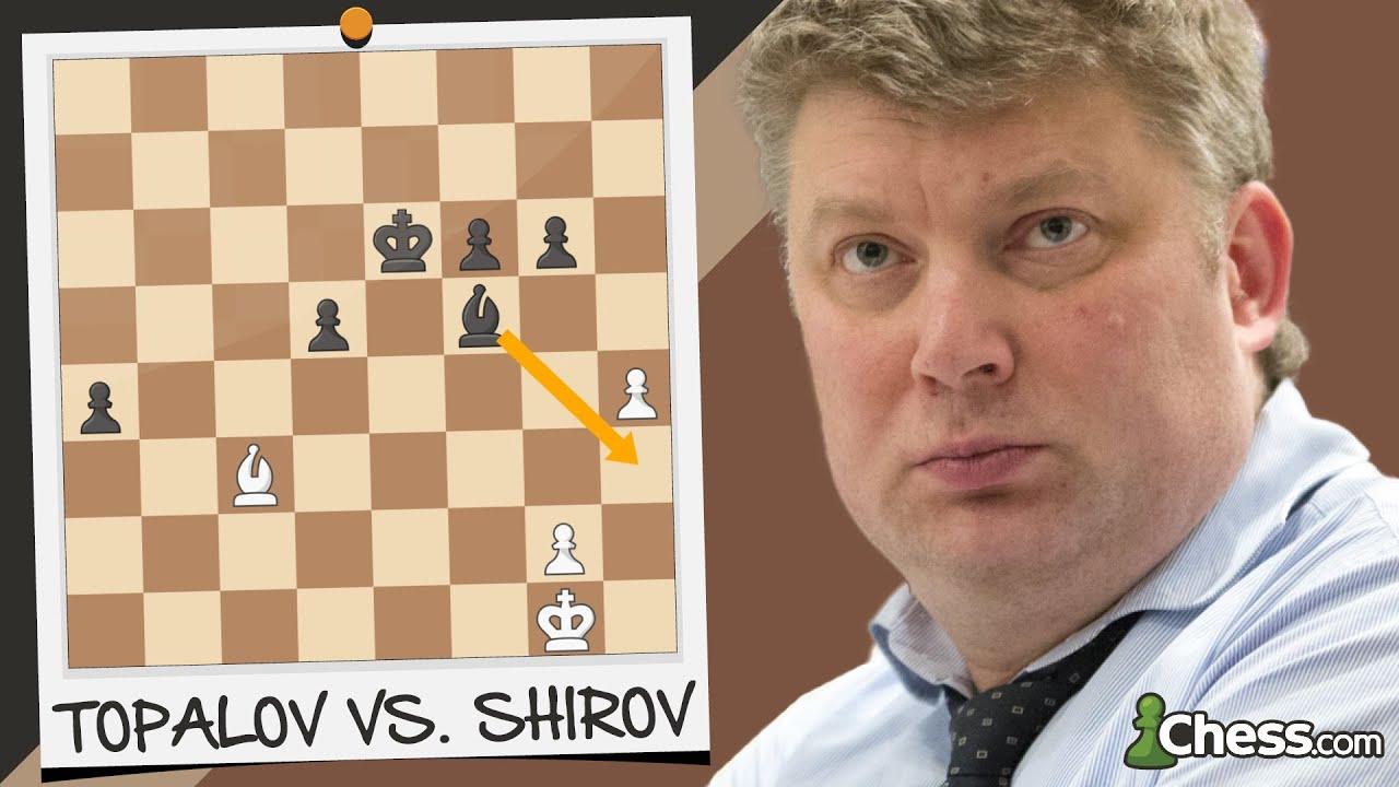 La jugada de SHIROV que dejó BOQUIABIERTO al mundo entero