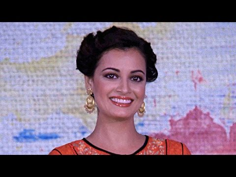LAUNCH OF A TRAVEL SHOW BY DIA MIRZA | Bollywood News