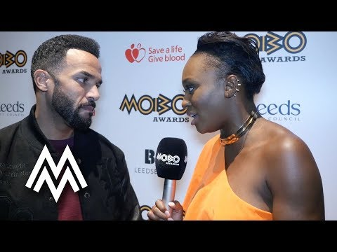 CRAIG DAVID | INTERVIEW | MOBO Pre-Awards