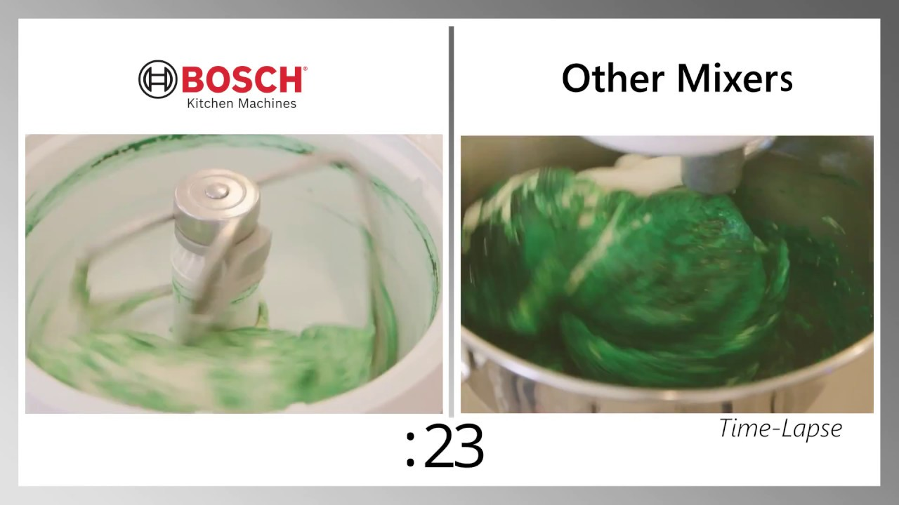 Bosch Universal Plus Mixer Comparison