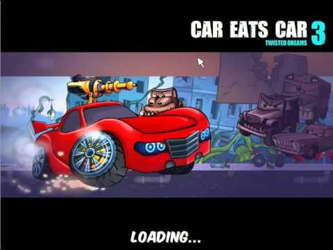 Flash игра Хищные машины 3 Искажённые мечты средняя сложность 1 серия