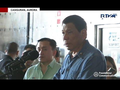 Paglalagay ng watawat ng Pilipinas sa Philippine Rise, pinangunahan ni Pres. Duterte